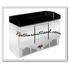 R315 3 Doors Static Cooling Pizza Prep Station